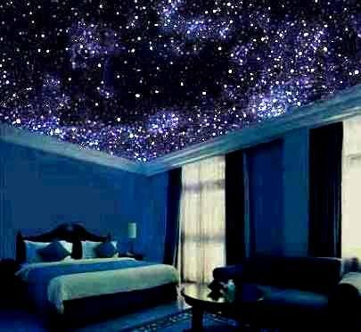 Fantastic fiber optic starfield ceiling ideas field for Space headliner