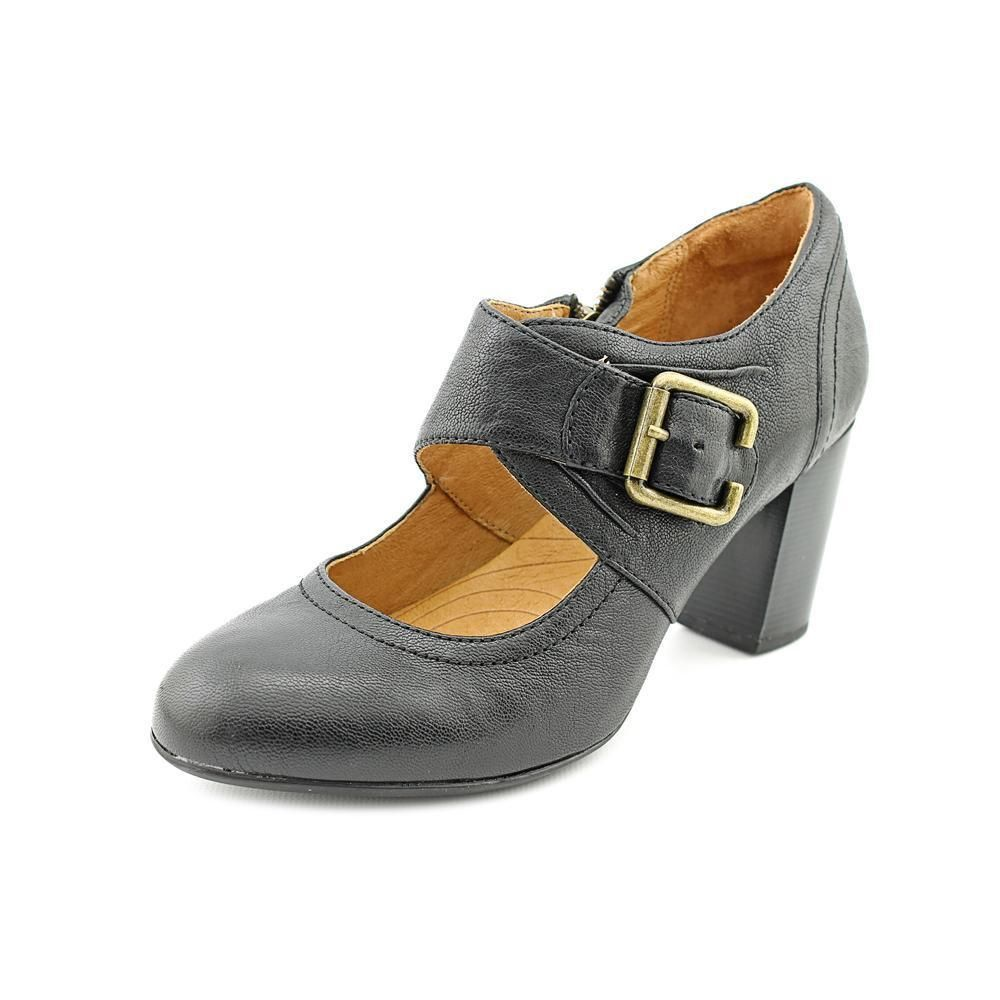 Indigo By Clarks Town Club Womens Leather Mary Janes Heels