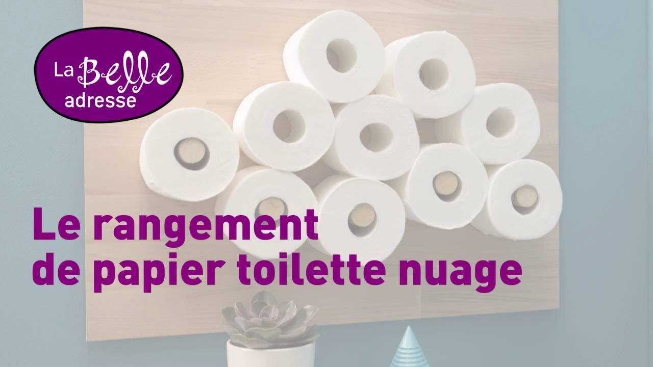 Le Rangement De Papier Toilette En Forme De Nuage Deco Pinterest