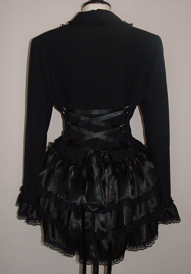 26ca5fd317 $70 Jacket Victorian Vampire, Victorian Corset, Riding Jacket, Gothic  Fashion, Victorian Fashion