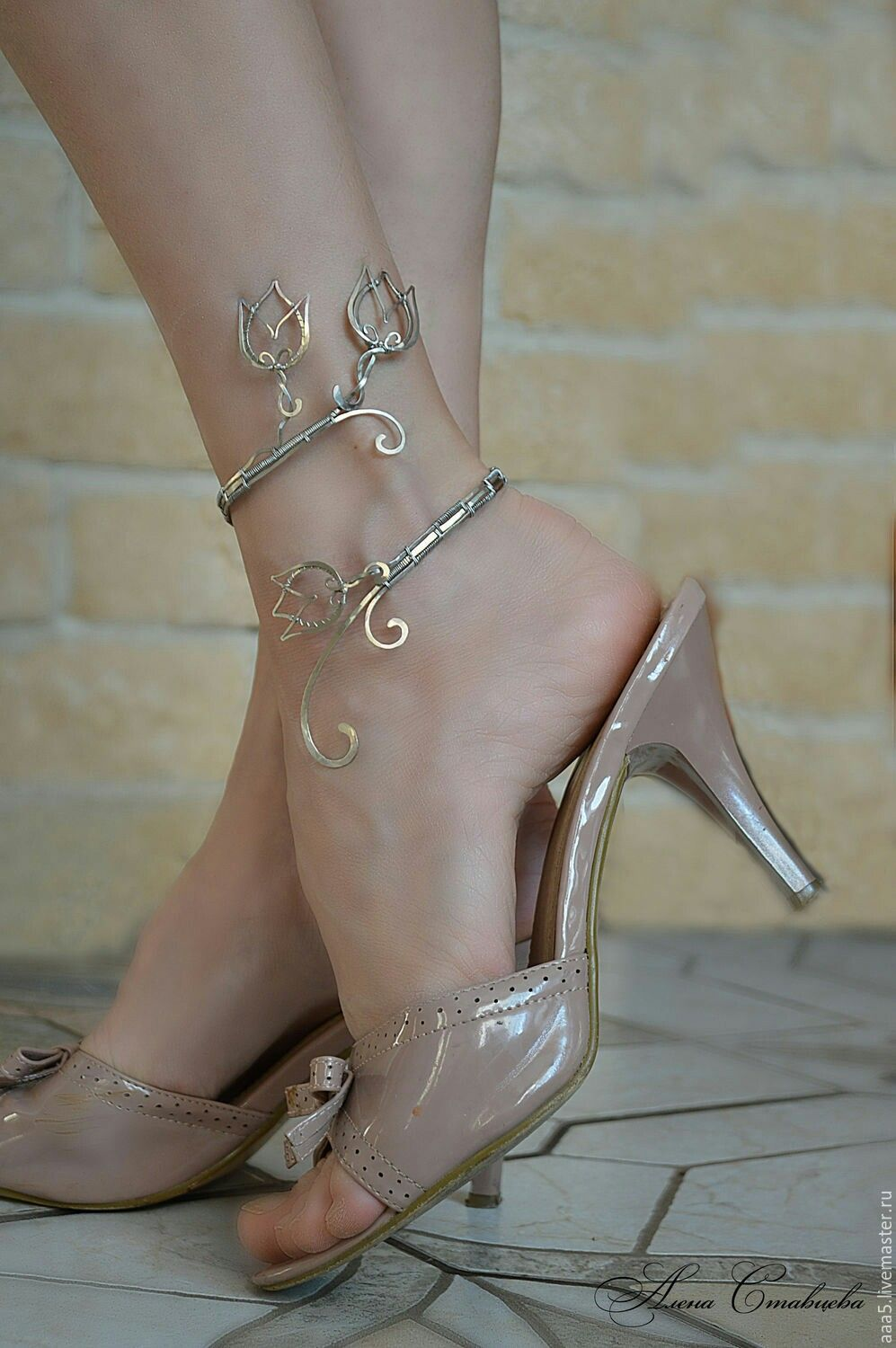 photos juliet b foxtrott flickr ankle anklet bangle by
