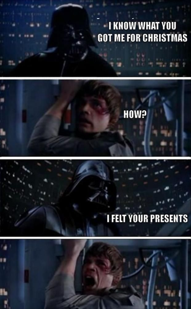 Star Wars Christmas Funny Pictures Dump A Day Funny Star Wars Pictures Star Wars Humor Star Wars Memes