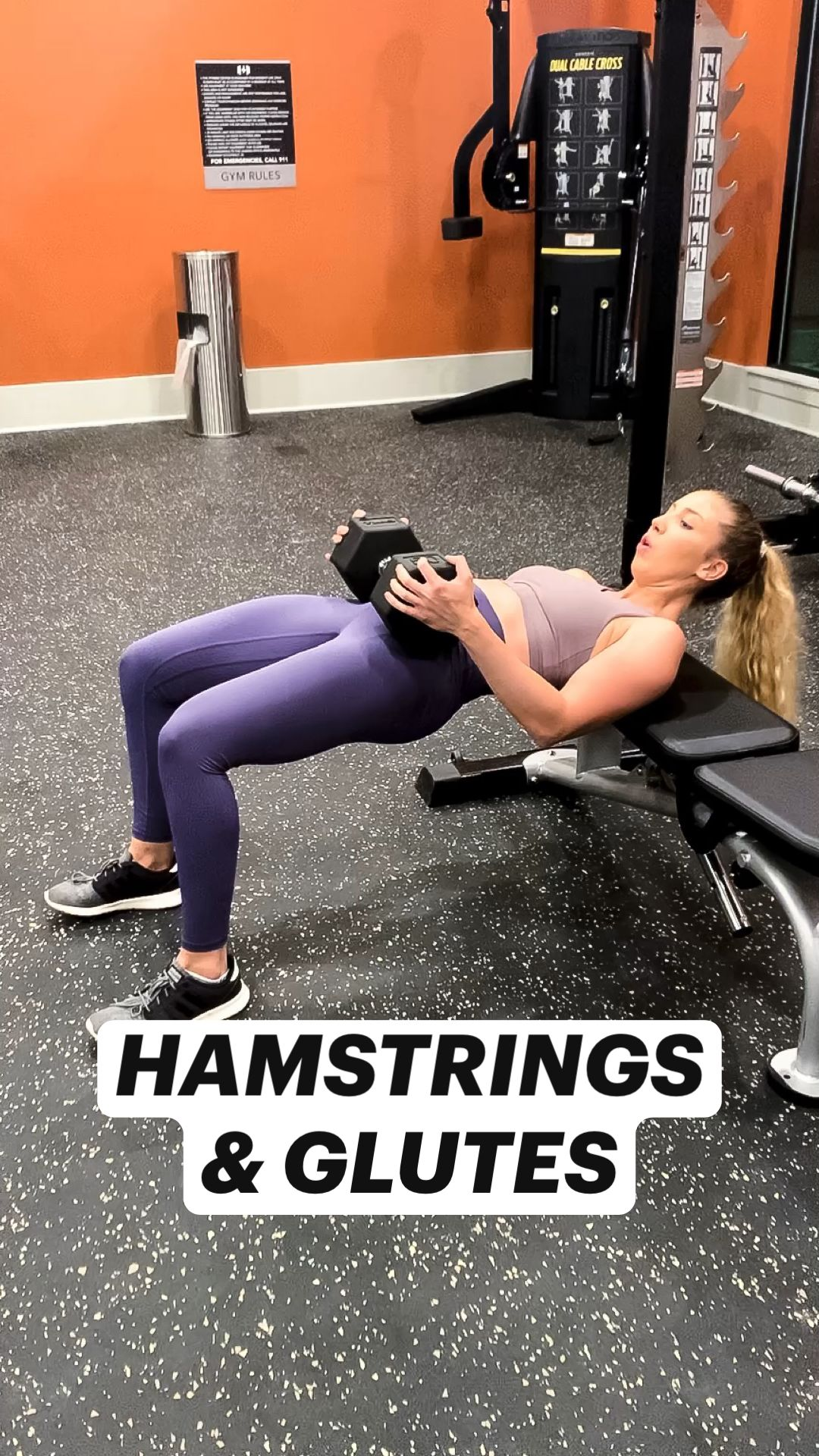 HAMSTRINGS  & GLUTES