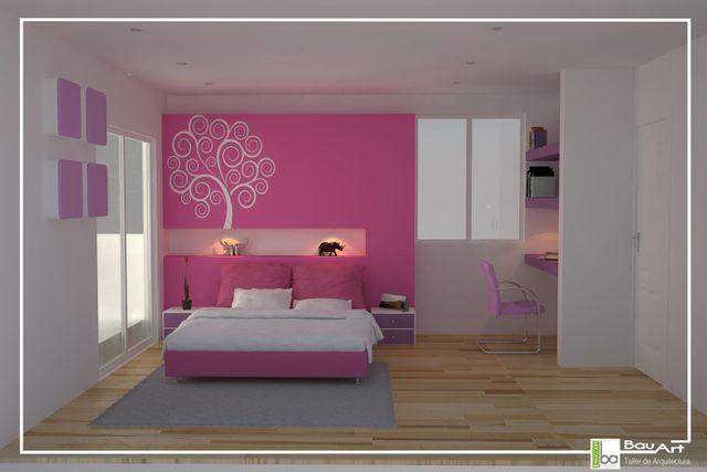 Decoraci n de recamara en rosa cosas para comprar for Decoracion de interiores recamaras