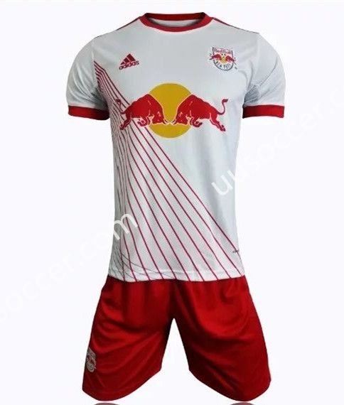 premium selection 8a7a0 82af2 2017-18 New York Red Bulls White Soccer Uniform | Cheap ...