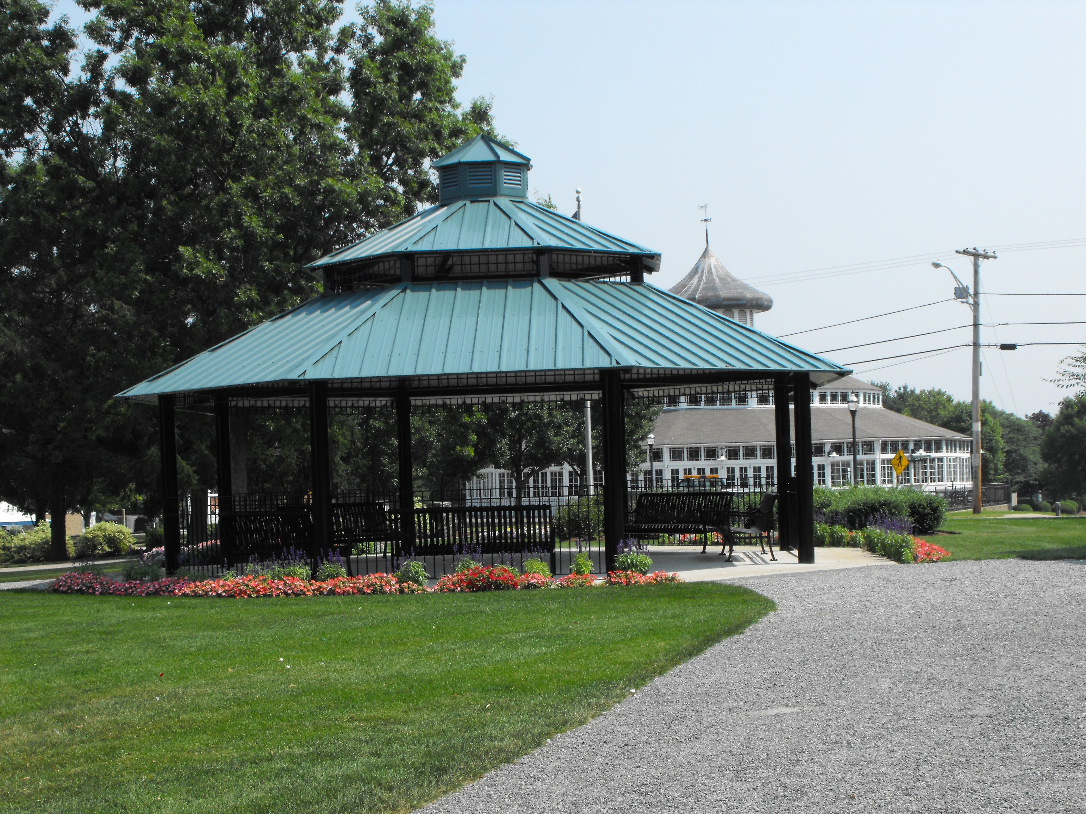 Larissa Park, and the Crescent Park Carousel, Riverside RI