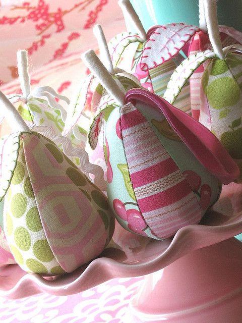 Pear Ornaments