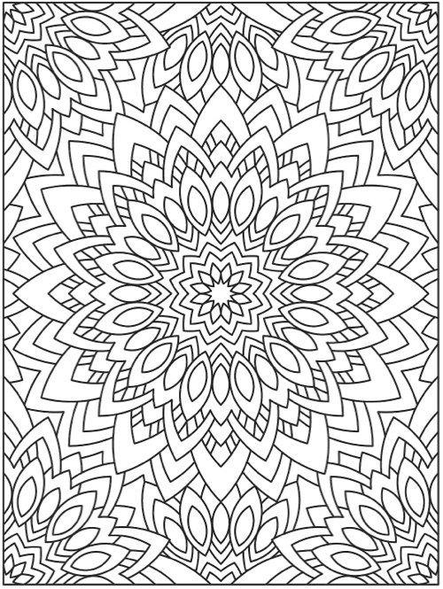 The Best Mandala Coloring Books for Adults   Mandalas, Colorear y Pintar
