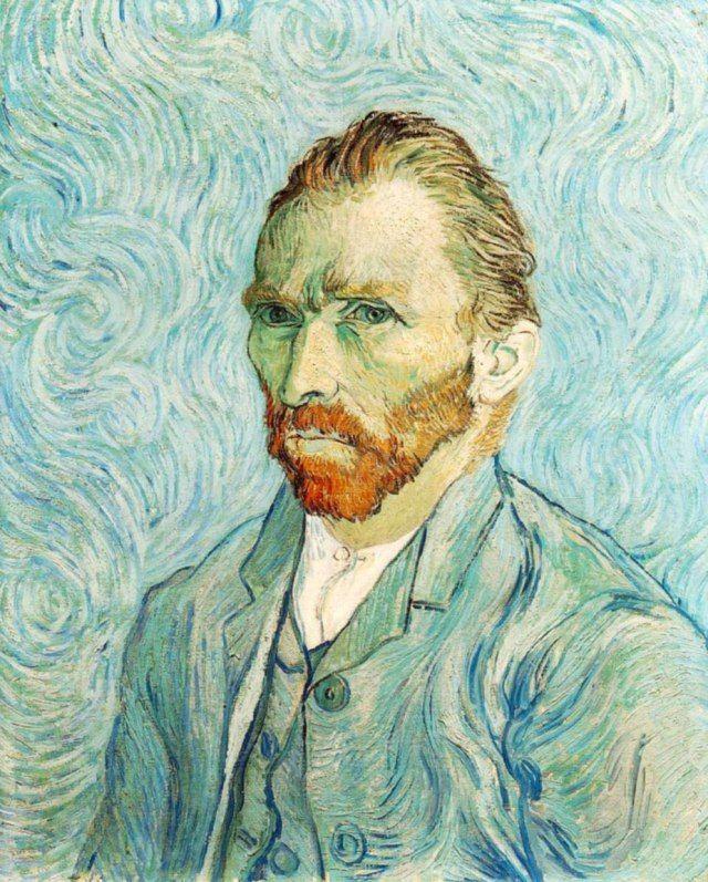 Pinturas de Van Gogh autorretrato