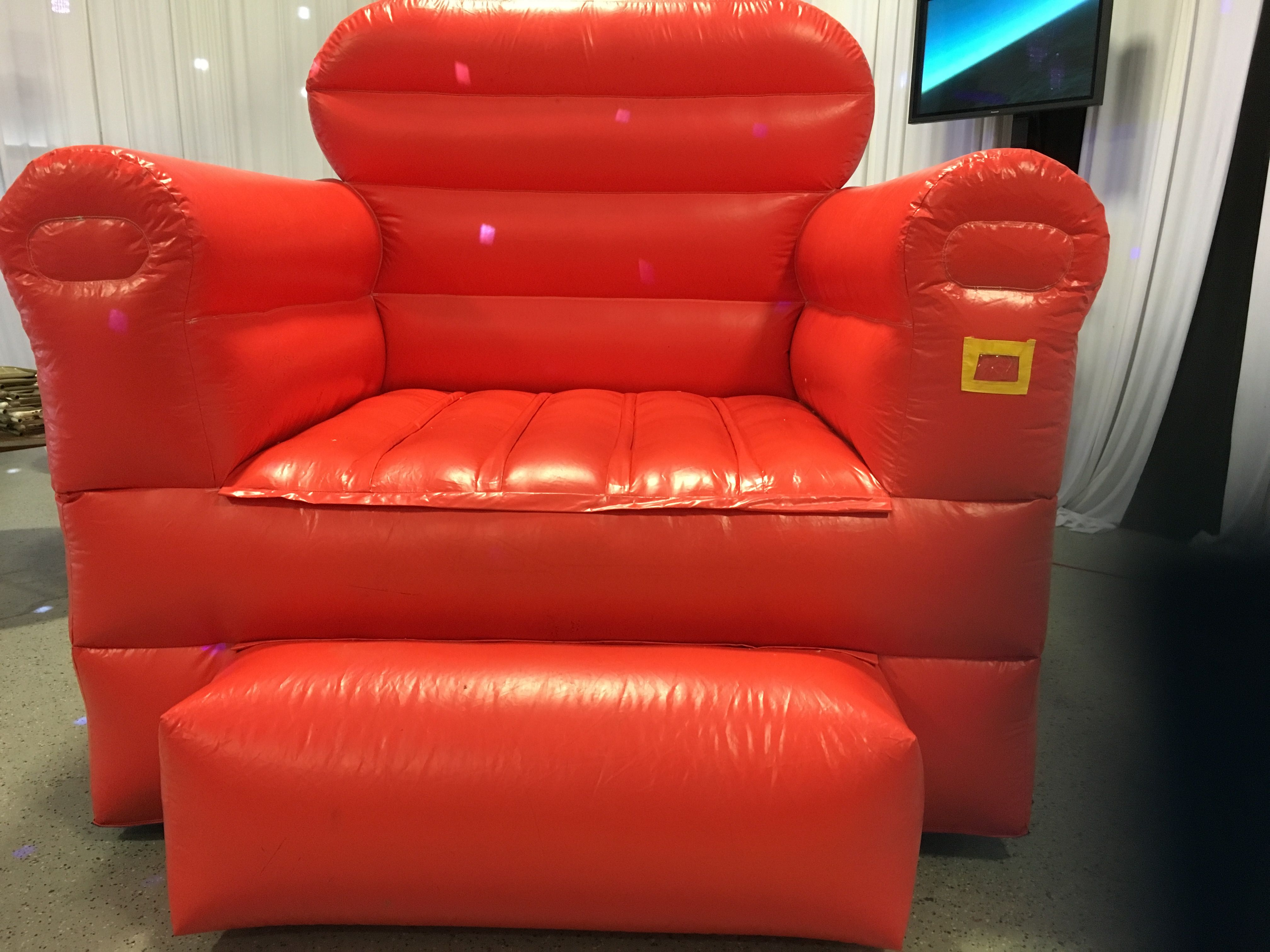 Big Inflatable Couch Big Inflatable Red Chair With Props Games Inflatables