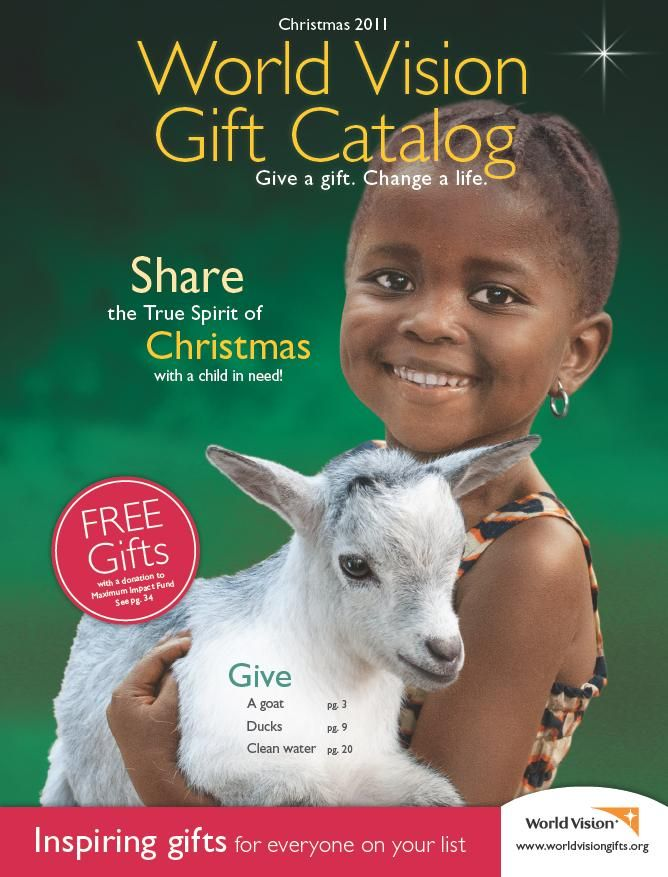 Charming World Vision Christmas Gifts Part - 2: World-Vision-2011-Christmas-Gift-Catalog-Cover.jpg 668×877 Pixels