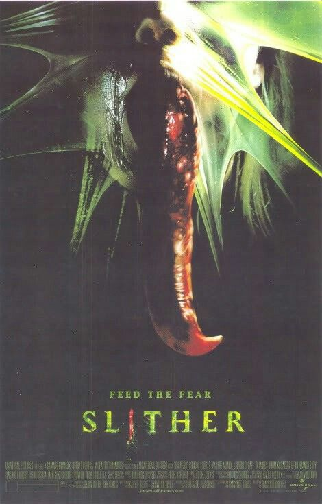 Slither Horror Movie Aliens Horror Movie Posters Horror Movies Movie Monsters