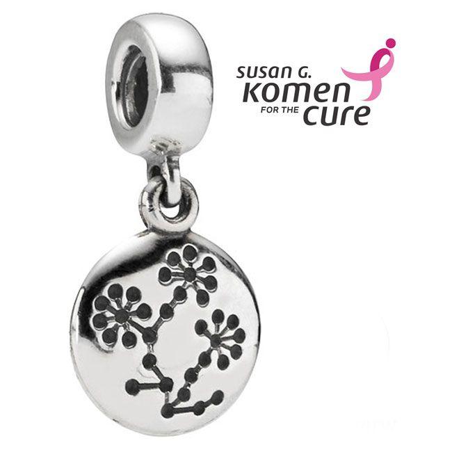 abalorios pandora cancer de mama