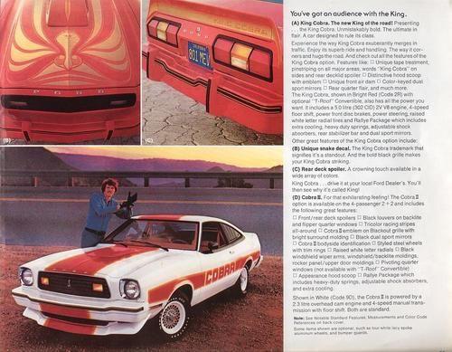 The Oldie But Goodie - 1978 Ford Mustang II King Cobra