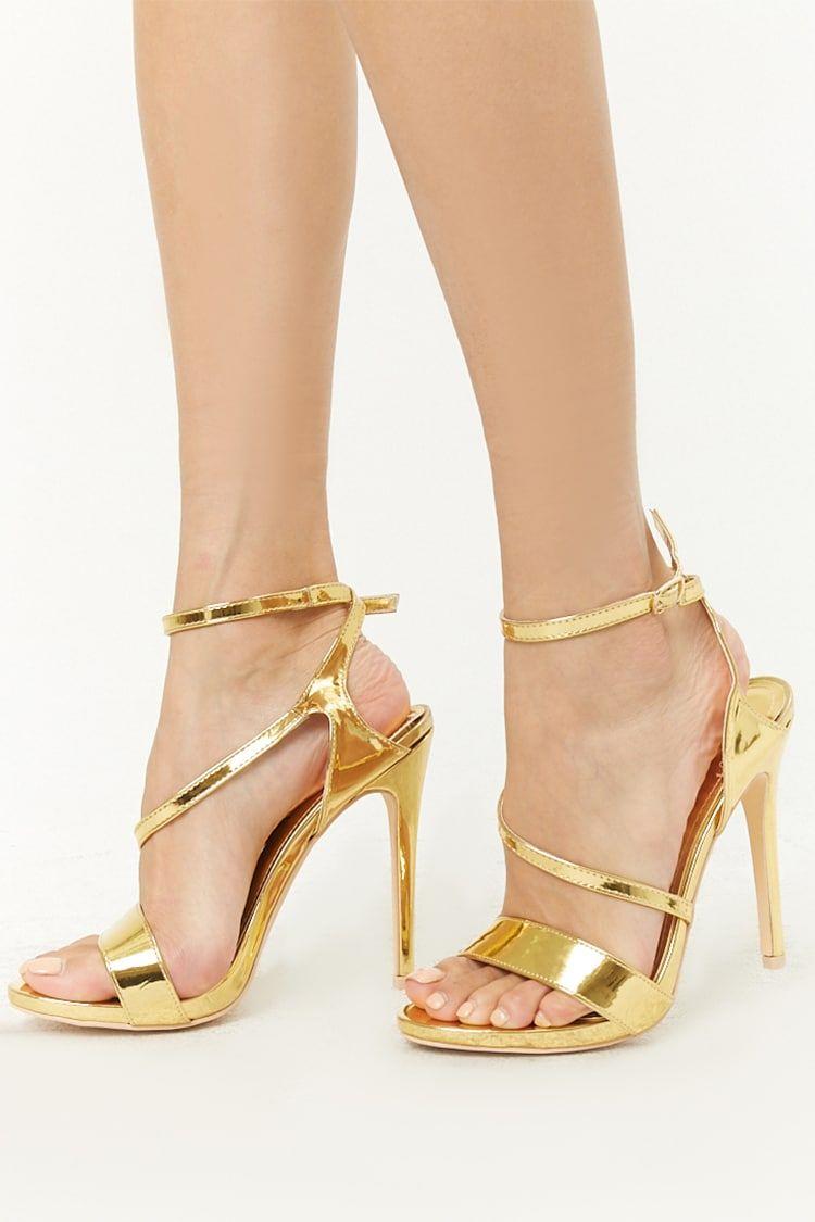 b7957d5bee5e Product Name Metallic Wraparound Heels