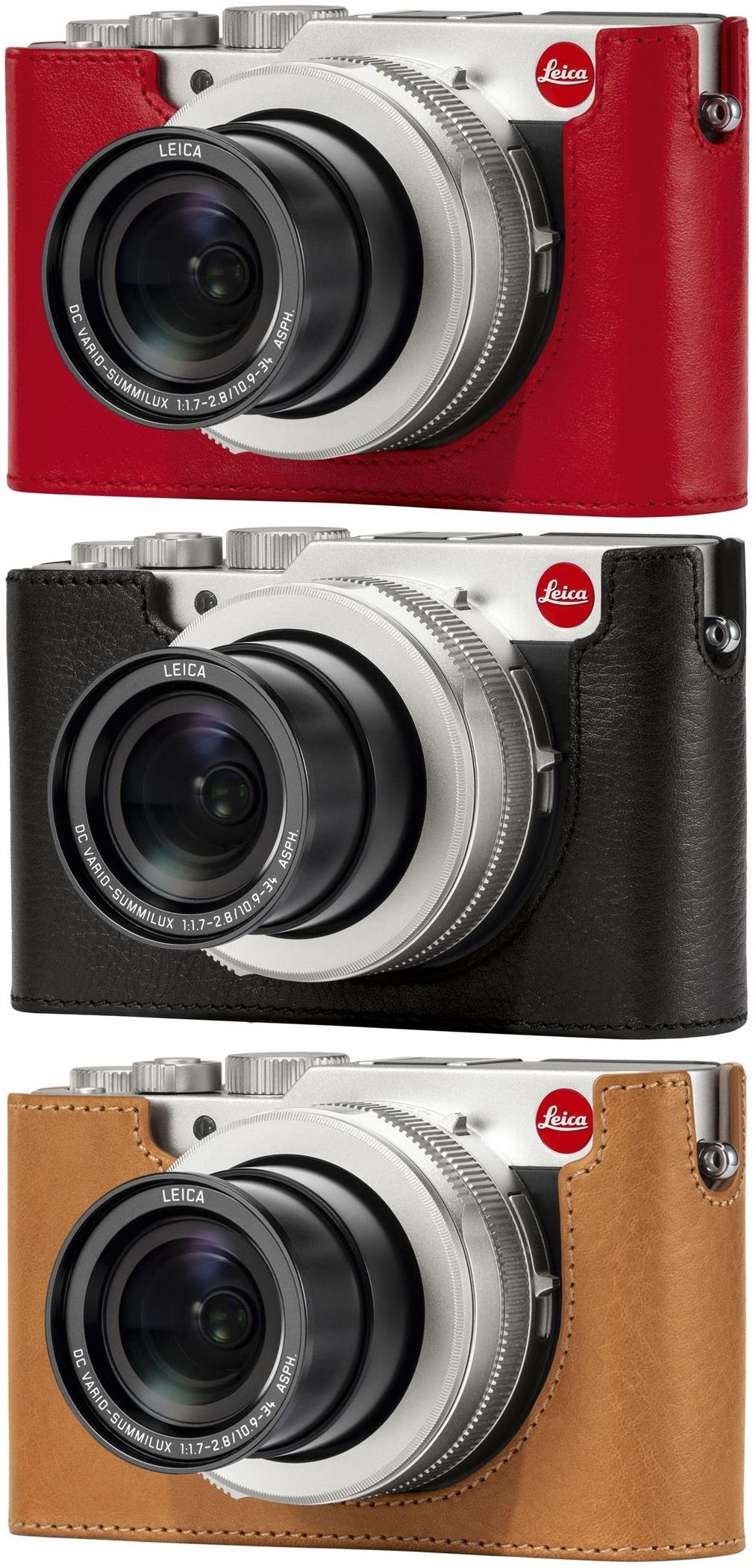 Red Leica Protector Case for D-Lux 7 Compact Camera