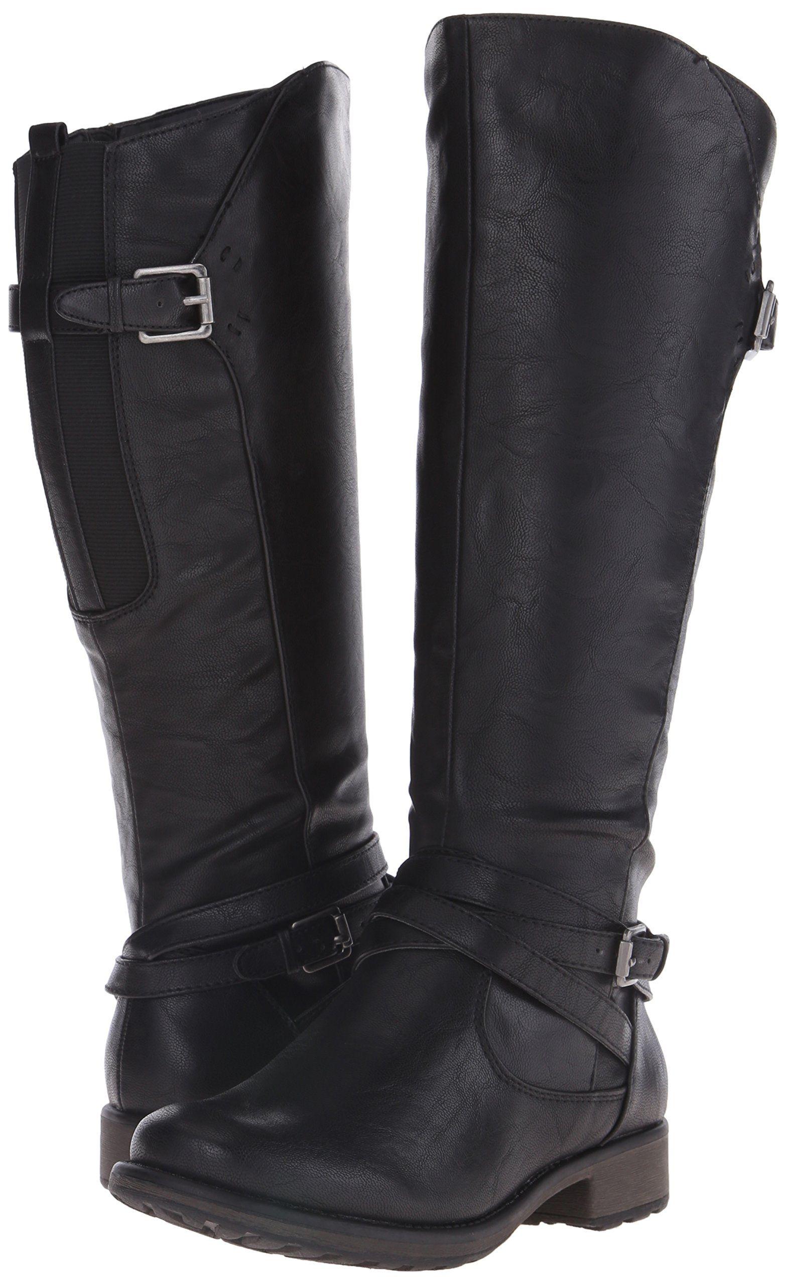 BareTraps Women's Susanna Riding Boot, Black