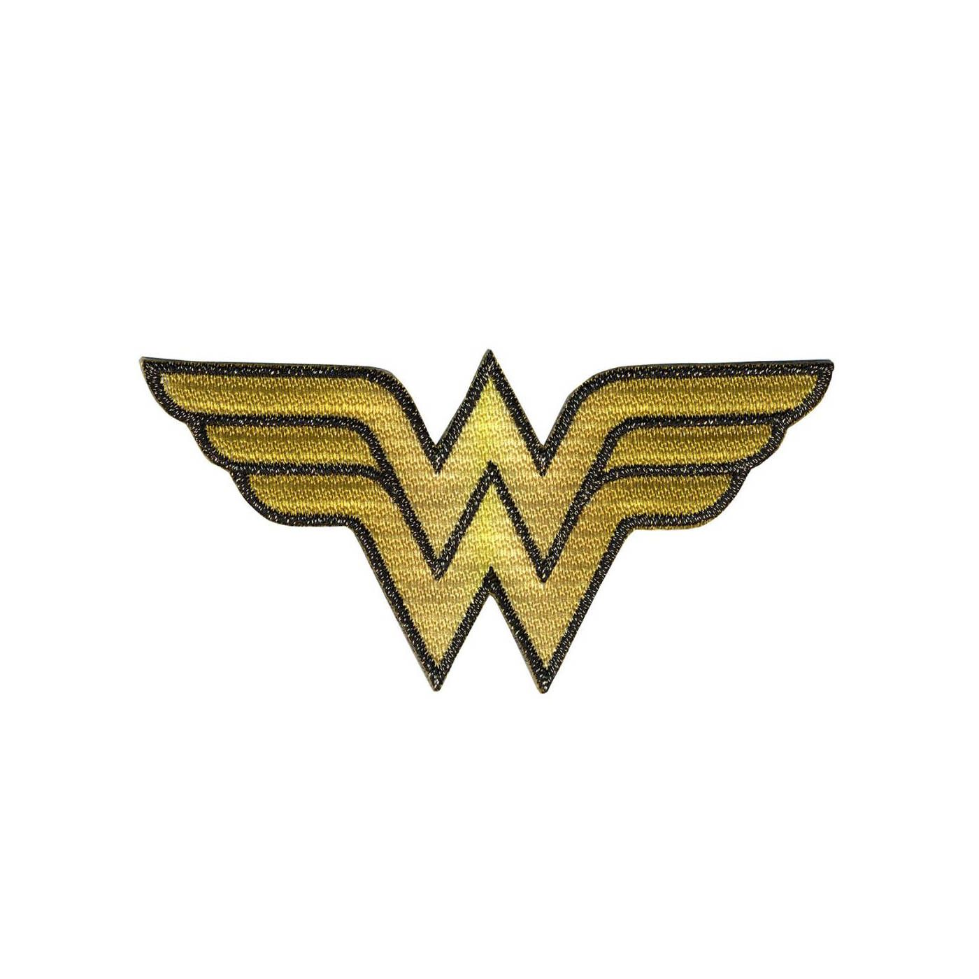 Wonder Woman Logo Genuine DC Comics Iron On Applique