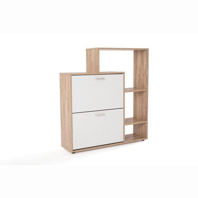 meuble chaussures tag re 2 abattants tal la redoute interieurs chambre parent pinterest. Black Bedroom Furniture Sets. Home Design Ideas