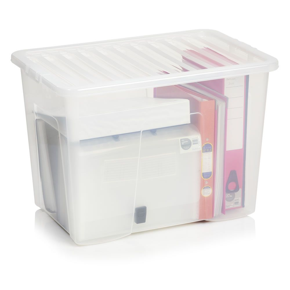 Plastic boxes with lids square plastic storage containers for Bathroom medicine cabinets 16x20