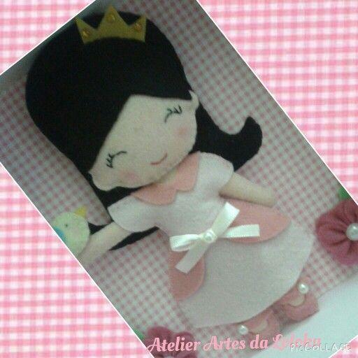 Princesinha de feltro