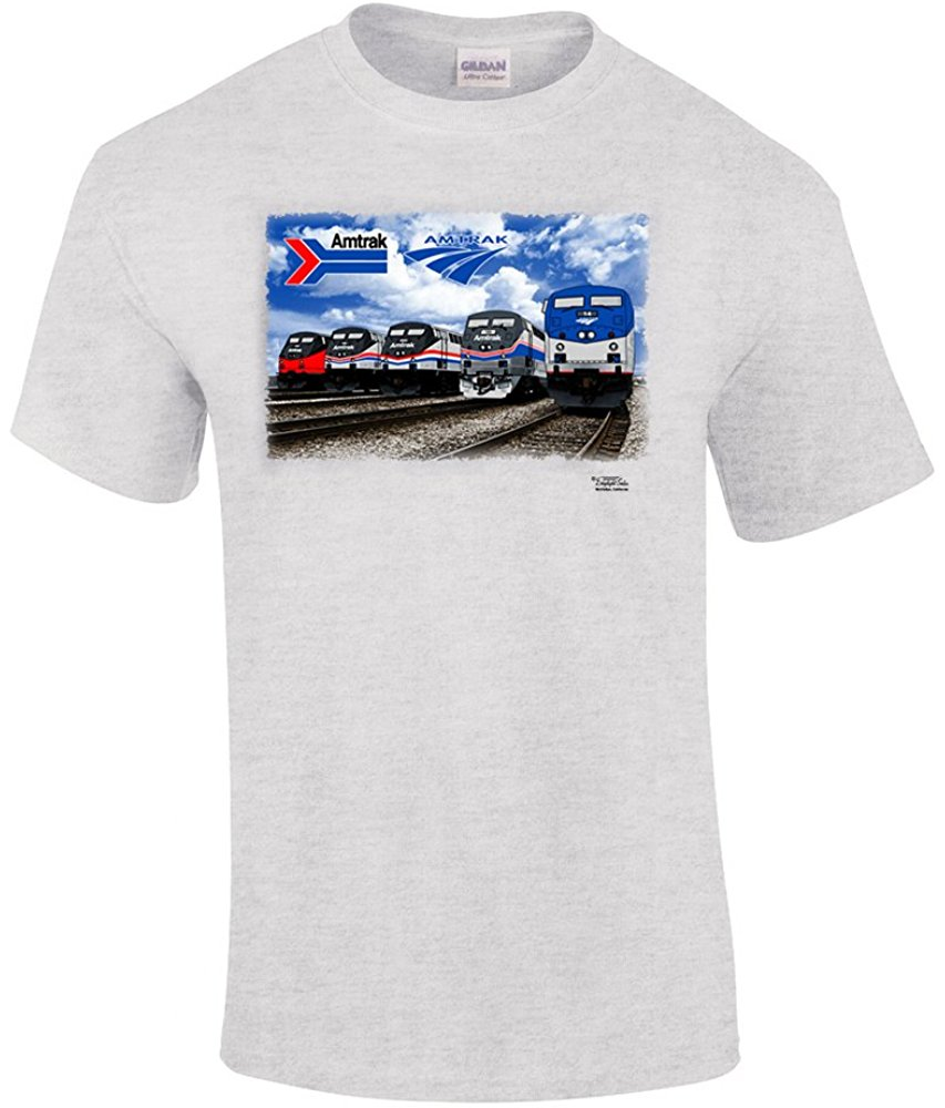 Amtrak Heritage Authentic Railroad T Shirt Shirts, T