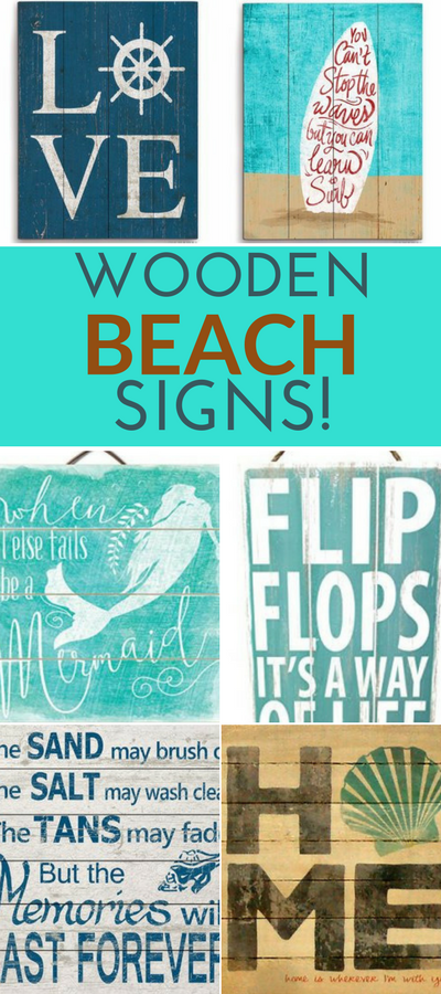 100 Wooden Beach Signs And Wooden Coastal Signs Beach Signs Wooden Beach Signs Painted Wooden Signs