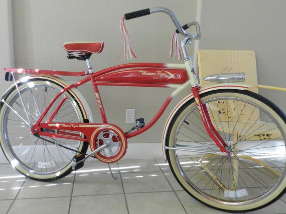 SOLD Western Flyer Limited Edition BicycleSOLD par kitchenkueen
