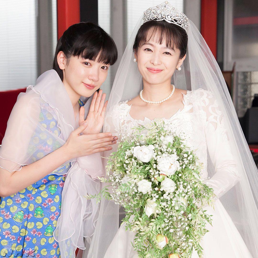 「清野菜名 ウェディングドレス」の画像検索結果