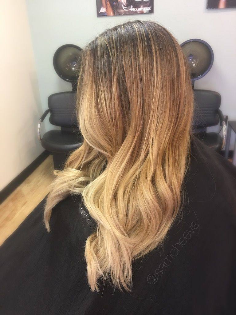 Balayage Highlights For Dirty Blonde And Brown Hair Types Natural