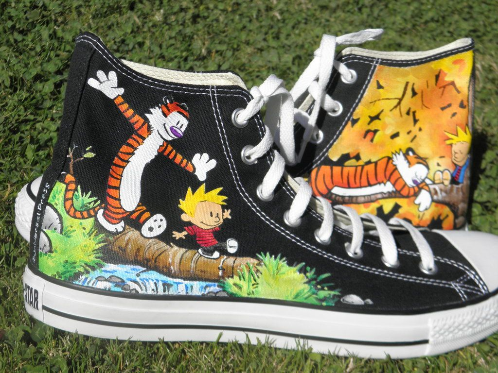 Calvin and hobbes converse