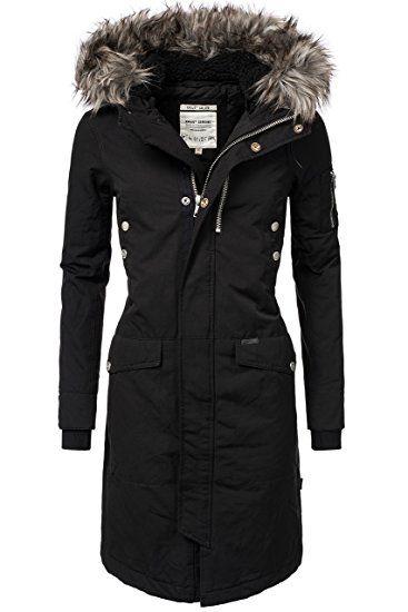 Khujo Damen Jacke Clivie Schwarz 200 Black Gr L In 2020 Winter Coats Women Clothes Mens Winter Coat