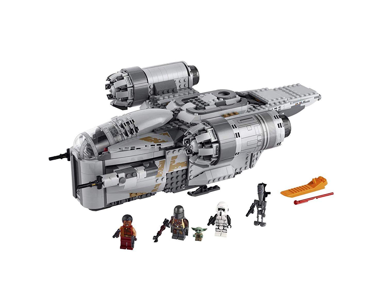 Lego Star Wars The Mandalorian The Razor Crest In 2020 Lego Star Wars Sets Star Wars Set Lego Mandalorian