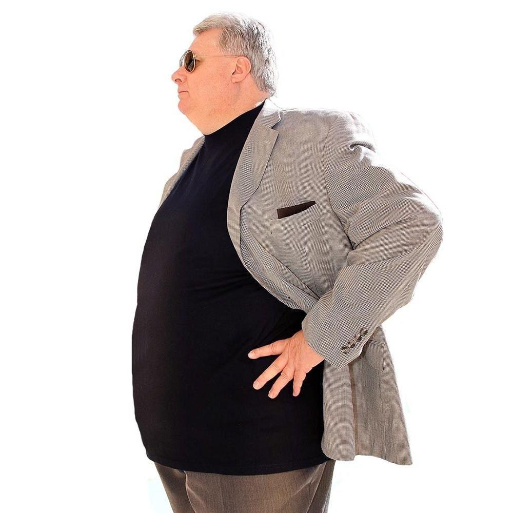 23c5a265723c 3XL 4XL 5XL 6XL Crew Neck Bamboo Short-Sleeve T-Shirts. #plussize #fatshion  #bodypositive #plussizemenswear #fatfashion