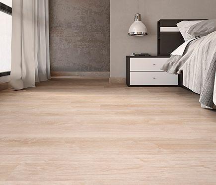 Suelo laminado aero roble beige leroy merlin 6 95 m2 for Suelos sin obras leroy merlin