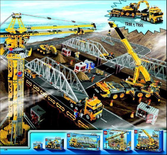 Lego Cargo Train Deluxe Instructions 7898 City Lego Pinterest