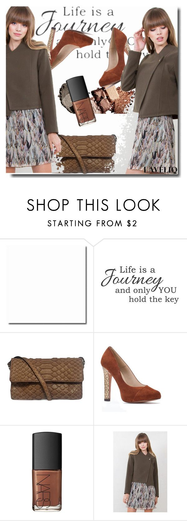 """""""LAVELIQ 4"""" by goldenhour ❤ liked on Polyvore featuring NARS Cosmetics, women's clothing, women, female, woman, misses, juniors and Laveliq"""