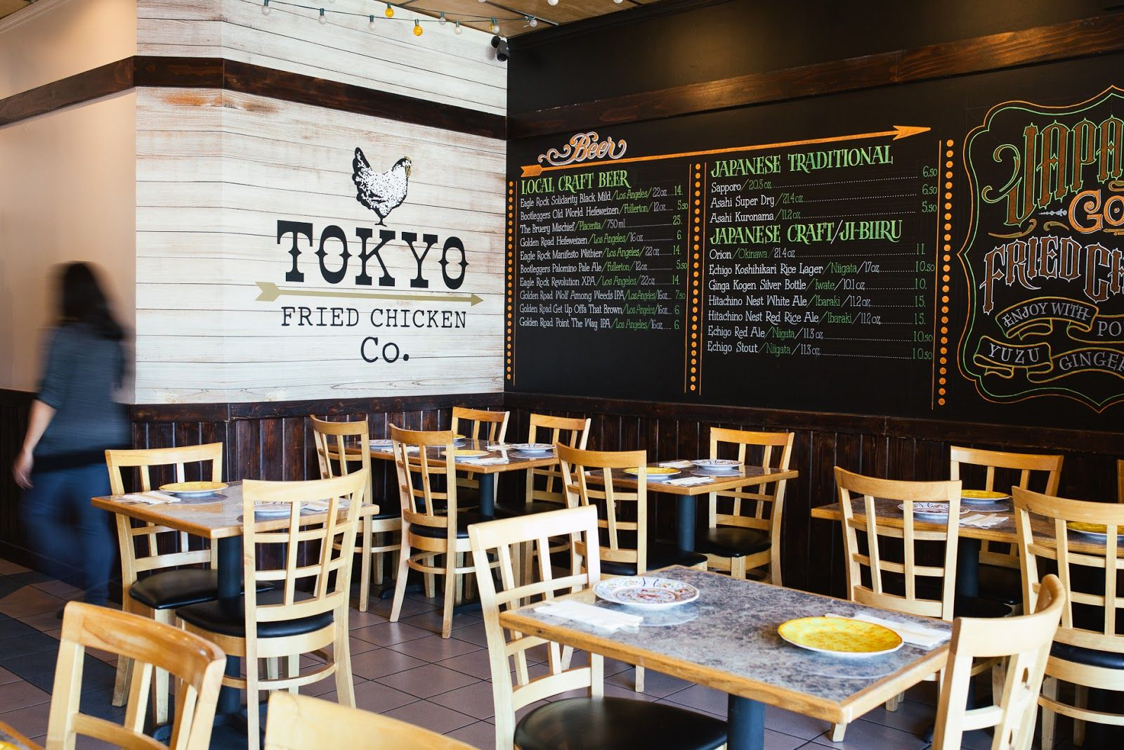 Tokyo Fried Chicken Co Los Angeles California Soy Glazed Carrots With Bacon Fried Chicken Restaurant Fried Chicken Chicken Shop