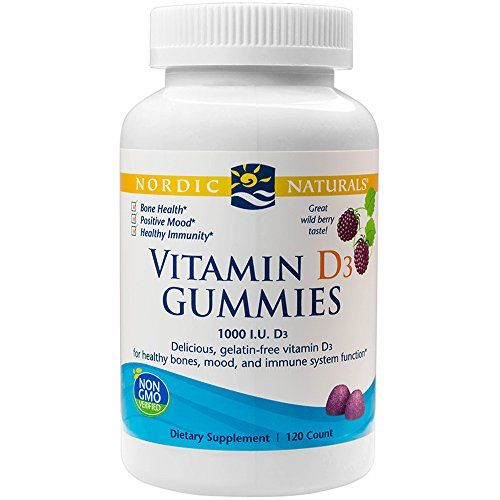 Amazon Com Nordic Naturals Vitamin D3 Gummies Healthy Bones Mood And Immune System Function 120 Soft Gels Healt Healthy Bones Natural Vitamins Vitamins