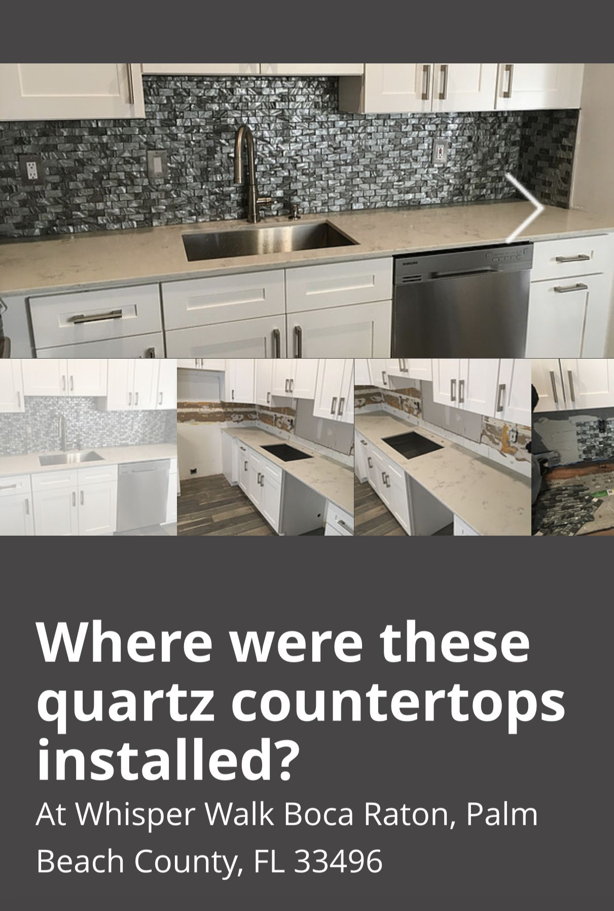 Do You Want Quartz Countertops Installer Near 33496 Quartz