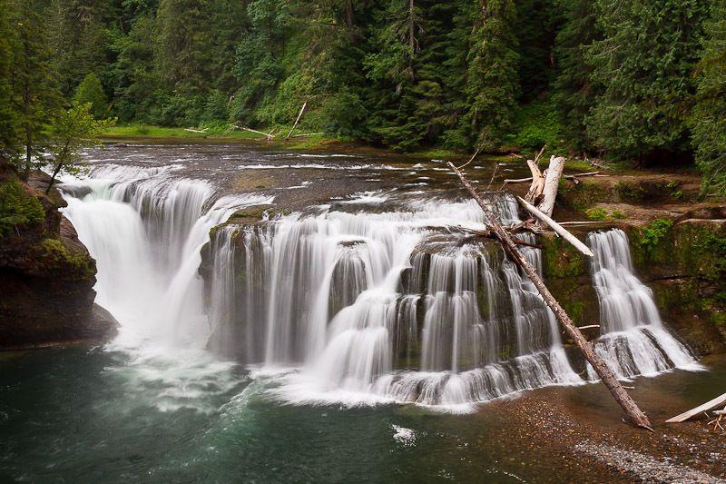 Falls Creek Falls, Skamania County, Washington   Rio
