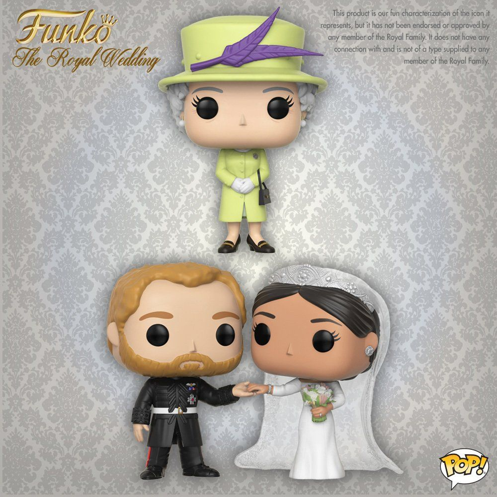 Duke /& Duchess of Sussex Royal Family 2 Pack POP POP Funko
