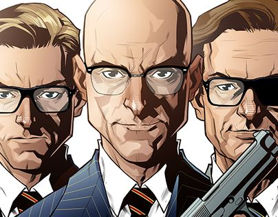 """Check out new work on my @Behance portfolio: """"Kingsman"""" http://be.net/gallery/63148009/Kingsman"""
