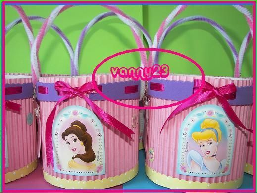 Cajitas de sorpresa infantil de princesas - Imagui