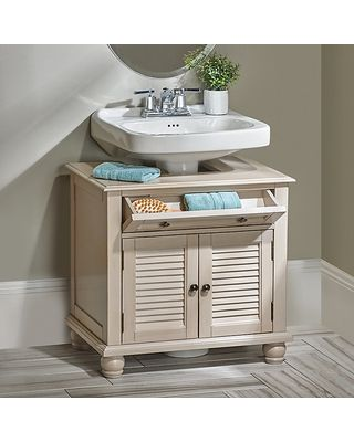 Awesome Explore Small Shelves, Pedestal Sink, And More!