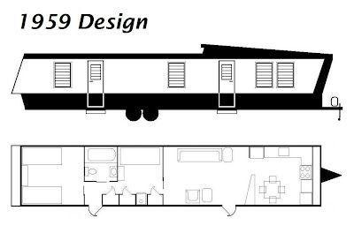 Portable Levittown April 2012 New Moon Trailer Vintage Camper Rv Floor Plans