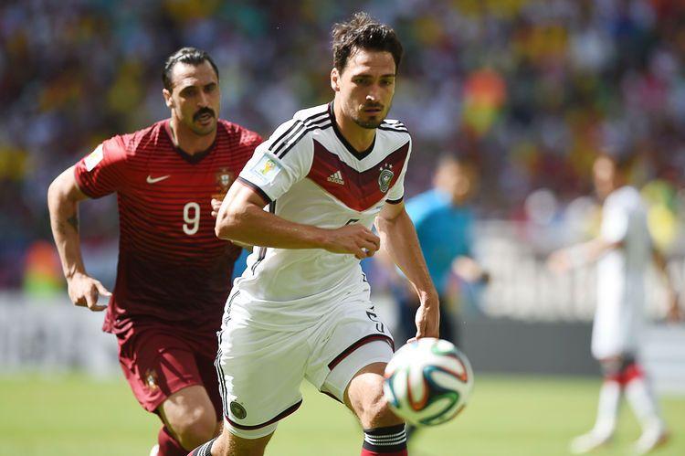 Nominado al Balón de Oro Adidas: el defensor central alemán, Mats Hummels.