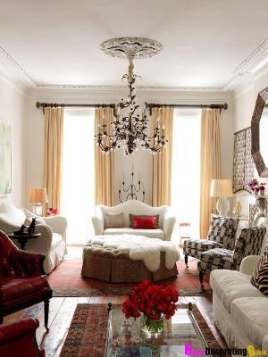 Boho Glam Living Room By Hreshtak