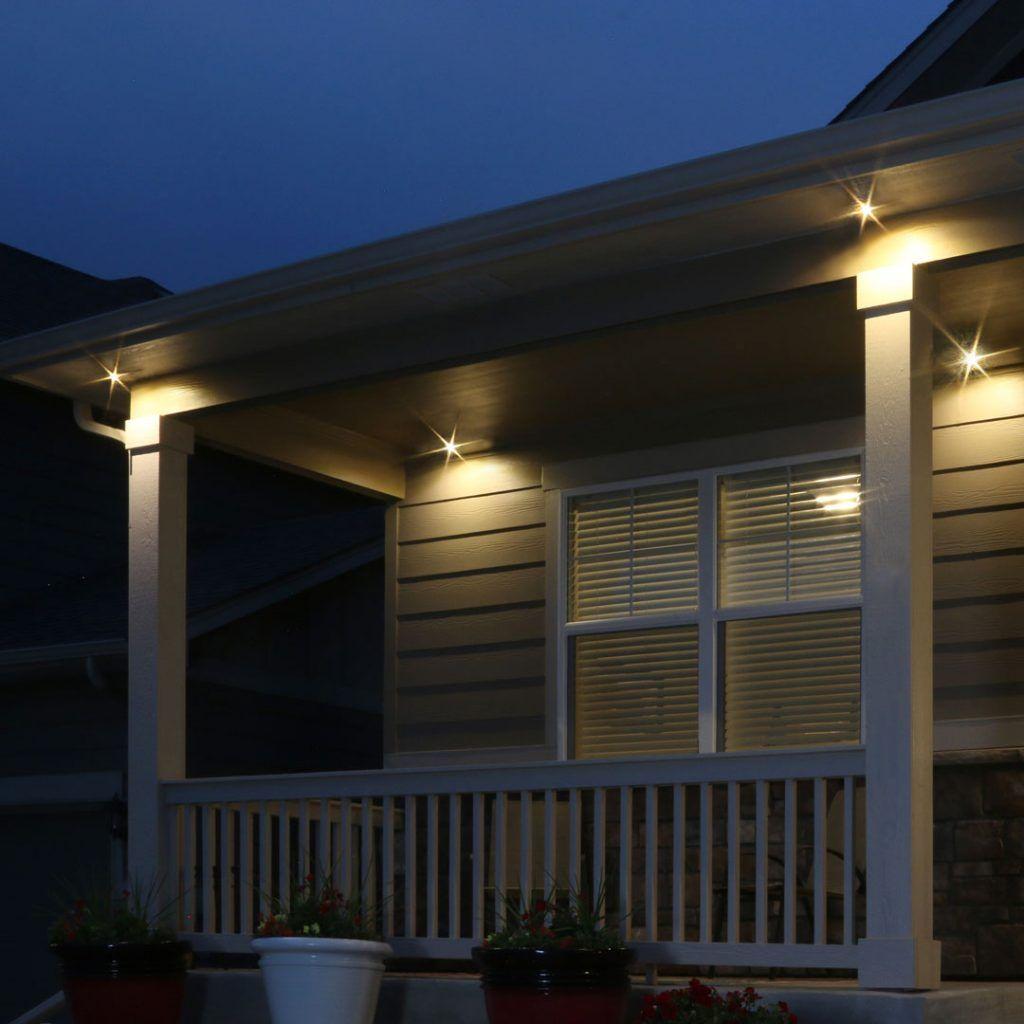 Led Soffit Flood Light Outdoor Kit In 2020 Outdoor Kit Flood Lights Outdoor Lighting