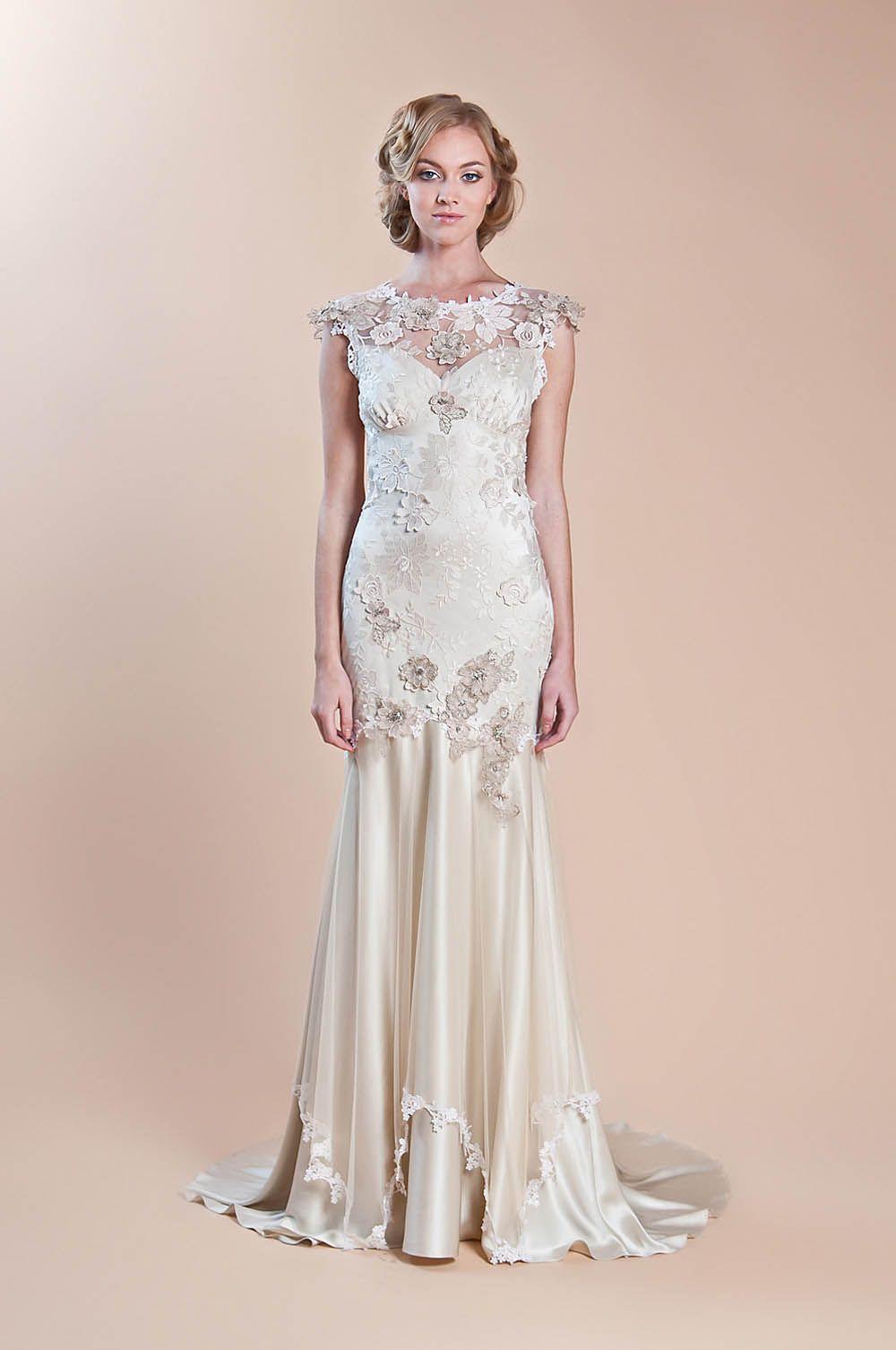 Evening dress 20s style wedding